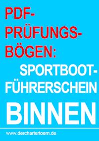 Prüfungsbögen Sportbootführerschein Binnen, Titel - Fragebögen als PDF Download