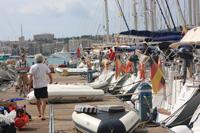 Chartersteg: Palma de Mallorca am Real Club Nautico